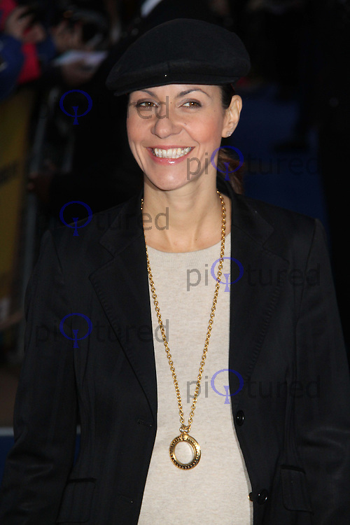 Julia Bradbury The Adventures of TinTin: The Secret of the Unicorn UK Premiere; Odeon West End Cinema, Leicester Square, London, UK. 23 October 2011.  Contact: Rich@Piqtured.com +44(0)7941 079620 (Picture by Richard Goldschmidt)