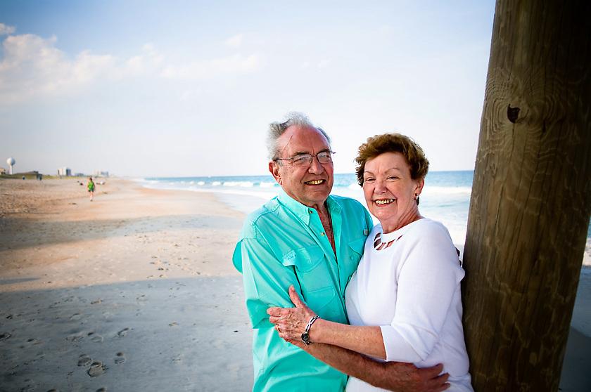Mature Beach Couple