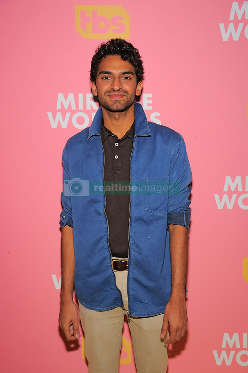 """Creator and executive producer Simon Rich and actors Steve Buscemi, Geraldine Viswanathan, Daniel Radcliffe and Karan Soni attend a screening and conversation for """"Miracle Workers"""" at the 92Y on May 14, 2019 in New York City. 14 May 2019 Pictured: NEW YORK, NY - MAY 14: Karan Soni attends a screening and conversation for """"Miracle Workers"""" at the 92Y on May 14, 2019 in New York City. Photo credit: Ron Adar / M10s / MEGA TheMegaAgency.com +1 888 505 6342"""