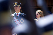 070914 Spanish Royals Visit Air Force Basic Academy in Leon