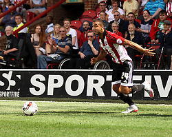 Brentford's Akaki Gogia - Mandatory by-line: Robbie Stephenson/JMP - 07966386802 - 08/08/2015 - SPORT - FOOTBALL - Brentford,England - Griffin Park - Brentford v Ipswich Town - Sky-Bet Championship