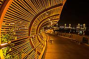 Dos Lagos Bamboo Bridge in Corona California