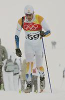 OL 2006 Langrenn menn 15km,<br />Pragelato Plan<br />17.02.06 <br />Foto: Sigbjørn Hofsmo, Digitalsport <br /><br />Mats Larsson SWE Sverige