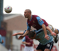 PICTURE BY DANIEL HAMBURY/SPORTSBEAT IMAGES<br />Nationwide Football League Division One    6/3/04<br /><br />West Ham United V Walsall<br /><br />West Ham United's Tomas Repka and Walsall's Gary Birch