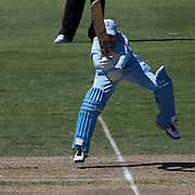Reema Malhotra batting during the match between New Zealand and India in the Super 6 stage of the ICC Women's World Cup Cricket tournament at North Sydney  Oval, Sydney, Australia on March 17, 2009. New Zealand beat India by 5 wickets. Photo Tim Clayton