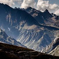 Francesco Gozio and Nate Hills. Day 3 of 5 around Mont Blanc.