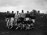 16/01/1960<br /> 01/16/1960<br /> 16 January 1960<br /> Interprovincial Mens Hockey: Munster v Leinster. The Munster team that played Leinster in the Senior Mens Hockey Interprovincial at Londonbridge Road, Dublin.