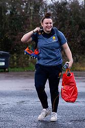 Flo Long of Worcester Warriors Women arrives at Sixways - Mandatory by-line: Nick Browning/JMP - 20/12/2020 - RUGBY - Sixways Stadium - Worcester, England - Worcester Warriors Women v Harlequins Women - Allianz Premier 15s