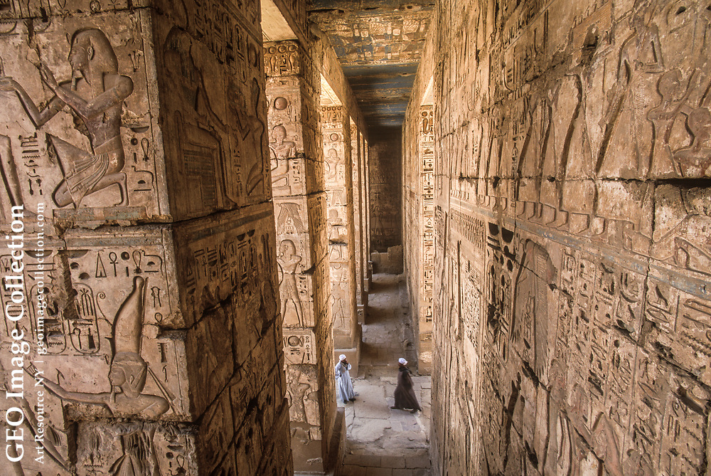 Reliefs from the temple of Ramses III.
