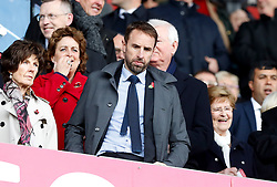 England manager Gareth Southgate in the stands