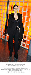 Actress MONICA BELLUCI at a party in Paris on 7th April 2004.PTE 142