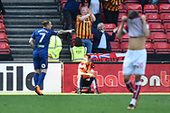 Goal - AKamil Grosicki (7) of Hull City celebrates scoring a goal to make the score 4-5 during the EFL Sky Bet Championship match between Bristol City and Hull City at Ashton Gate, Bristol, England on 21 April 2018. Picture by Graham Hunt.