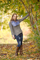 Jillian B senior portrait session.  ©2015 Karen Bobotas Photographer