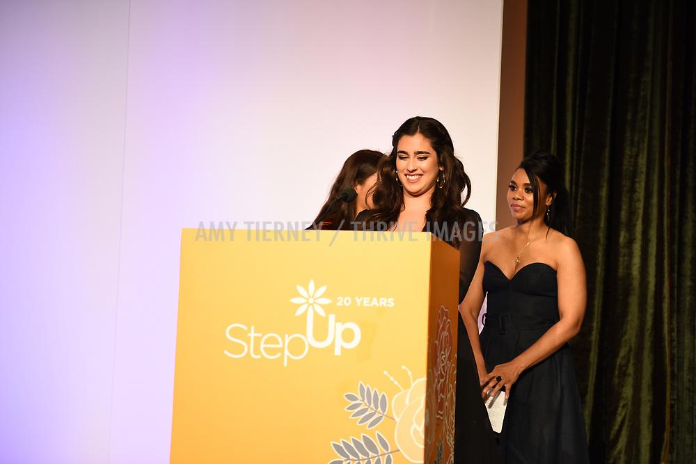 Romina, Lauren Jauregui, and Regina Hall