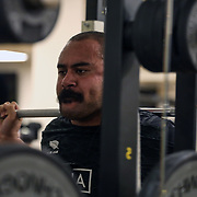 20181119 Rugby : Allenamento in palestra All Blacks