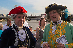 2017-07-17 300th anniversary of Handel's Water Music celebrated on Thames