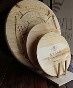 Engravings can be done with either a router or by laser.