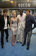 "Ewan McGregor, Scarlett Johansen, Djimon Hounsou and Sean Beanat the UK Premiere of ""The Island"" at the Odeon Leicester Square, London. 7 August 2005. , ONE TIME USE ONLY - DO NOT ARCHIVE  © Copyright Photograph by Dafydd Jones 66 Stockwell Park Rd. London SW9 0DA Tel 020 7733 0108 www.dafjones.com"