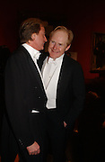 Robin Hurlestone and Charles Cator. Belle Epoche gala fundraising dinner. National Gallery. 16 March 2006. ONE TIME USE ONLY - DO NOT ARCHIVE  © Copyright Photograph by Dafydd Jones 66 Stockwell Park Rd. London SW9 0DA Tel 020 7733 0108 www.dafjones.com