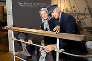 Utställning om den svenska utvandringen till USA på the Swedish American Museum, Andersonville, Chicago, Illinois, USA<br /> <br /> Foto: Christina Sjögren