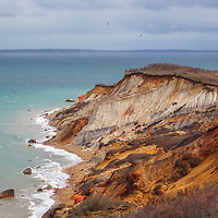 New England seascape photography of the scenic Aquinnah Cliffs also known as Gay Head Cliffs at Aquinnah on Martha's Vineyard, Massachusetts.<br /> <br /> Martha's Vineyard Aquinnah Cliffs landscape photography images are available as museum quality photography prints, canvas prints, acrylic prints, wood prints or metal prints. Fine art prints may be framed and matted to the individual liking and decorating needs:<br /> <br /> https://juergen-roth.pixels.com/featured/marthas-vineyard-aquinnah-cliffs-juergen-roth.html<br /> <br /> Good light and happy photo making!<br /> <br /> My best,<br /> <br /> Juergen