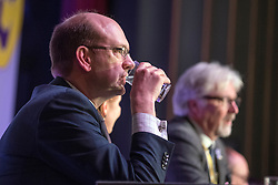 © Licensed to London News Pictures. 27/02/2015. Margate, UK . Mark Reckless MP addresses the conference. The UKIP spring conference at Margate Winter Gardens 27th February 2015. Photo credit : Stephen Simpson/LNP