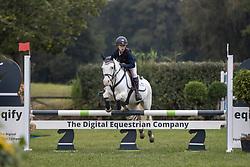 Bleux Charlotte, BEL, Snow<br /> Nationaal Kampioenschap LRV Ponies <br /> Lummen 2020<br /> © Hippo Foto - Dirk Caremans<br /> 27/09/2020