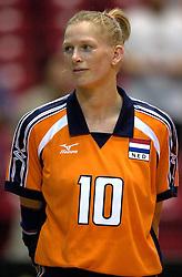 17-06-2000 JAP: OKT Volleybal 2000, Tokyo<br /> Nederland - Italie 2-3 / Henriette Weersing