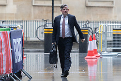 © Licensed to London News Pictures. 21/06/2020. London, UK. Shadow Secretary of State for Health and Social Care Jonathan Ashworth arrives at the BBC. Later he will appear on the Andrew Marr Show. Photo credit: George Cracknell Wright/LNP