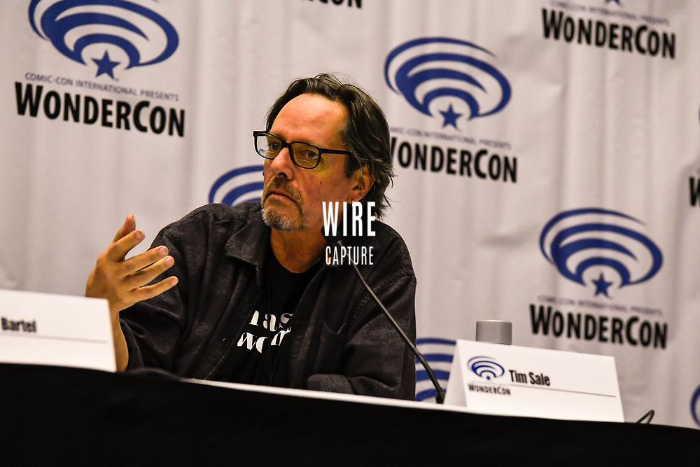 Tim Sale at Wondercon in Anaheim Ca. March 31, 2019