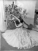 1952 - Irene Gilbert, Fashion designer. Fashion Parade at the Shelbourne Hotel