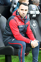 Football - 2017 / 2018 Premier League - Swansea City vs. Crystal Palace<br /> <br /> Swansea City acting manager Leon Britton, at the Liberty Stadium.<br /> <br /> COLORSPORT/WINSTON BYNORTH