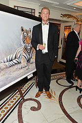 Olympic Gold medallist rower ALEX GREGORY at the David Shepherd Wildlife Foundation Wildlife Ball at The Dorchester, Park Lane, London on 9th October 2015.