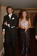 CHARLES RAMSAY AND KATHERINE MUNSEY, The Royal Caledonian charity Ball 2006.Grosvenor House. London. 5 May 2006. . ONE TIME USE ONLY - DO NOT ARCHIVE  © Copyright Photograph by Dafydd Jones 66 Stockwell Park Rd. London SW9 0DA Tel 020 7733 0108 www.dafjones.com