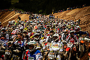 Riders before the start of The Red Bull Hare Scramble.