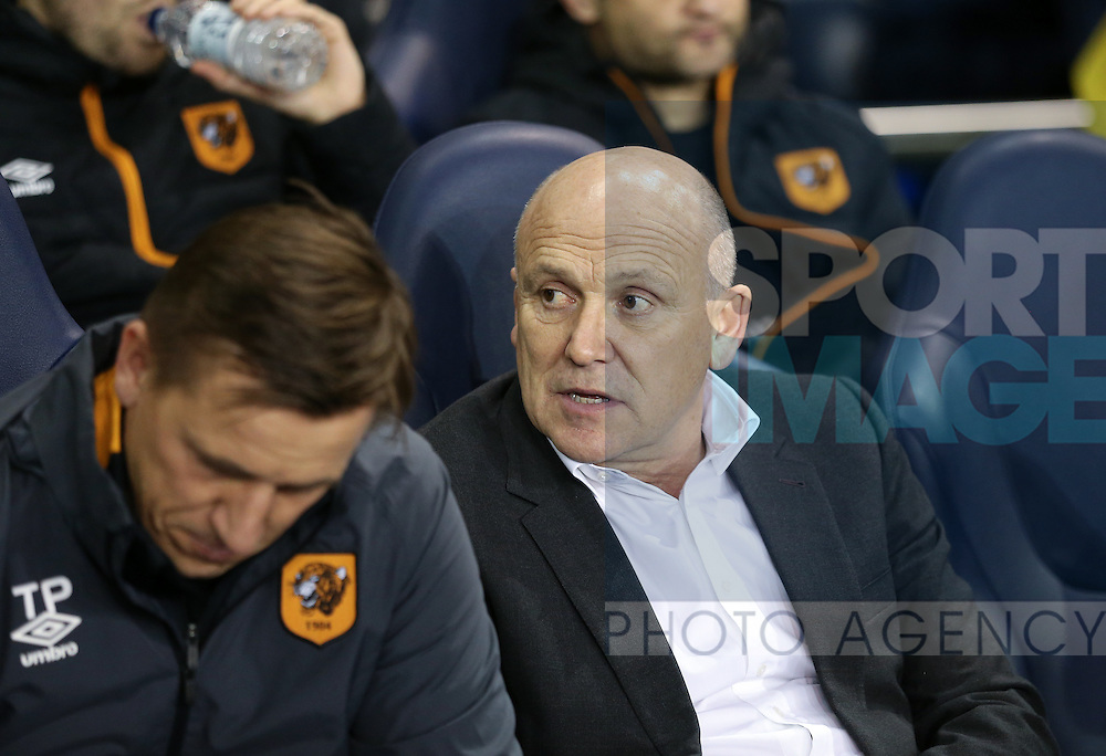 Hull's Mike Phelan looks on during the Premier League match at White Hart Lane Stadium, London. Picture date December 14th, 2016 Pic David Klein/Sportimage