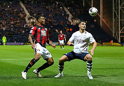 Josh King of Bournemouth  in action - Mandatory byline: Matt McNulty/JMP - 07966386802 - 22/09/2015 - FOOTBALL - Deepdale Stadium -Preston,England - Preston North End v Bournemouth - Capital One Cup - Third Round