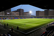 New Plough Lane during the EFL Trophy match between AFC Wimbledon and U21 Arsenal at Plough Lane, London, United Kingdom on 8 December 2020.