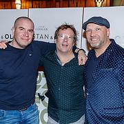 NLD/Amsterdam/20190107 - nloop voorpremière Stan & Ollie, Jeroen van Koningsbrugge, Patrick Lodiers en Ruben van der Meer