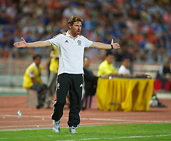 24.07.2011, Rajamangala National Stadium, Bangkok, THA, Chelsea FC Asia Tour, Thailand All Star XI vs Chelsea FC, im Bild // Chelsea's manager Andre Villas-Boas during a preseason match against Thailand Premier League All Stars XI at the Rajamangala National Stadium in Bangkok on the club's preseason Asia Tour, EXPA Pictures © 2011, PhotoCredit: EXPA/ Propaganda/ D. Rawcliffe *** ATTENTION *** UK OUT!