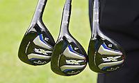 NOORDWIJK - Instructie Tom O'Mahoney voor senioren. Golfclubs. COPYRIGHT KOEN SUYK