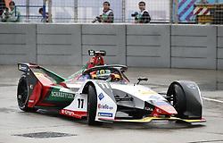 March 10, 2019 - Hong Kong, HONG KONG - 11, Lucas DI GRASSI, BRA, Audi Sport ABT Schaeffler, Audi, e-tron, FE05, .HONG KONG, CHN, 10. March 2019, Formula E Hong Kong .E-Prix, FIA Formula E, Formula E Grand Prix 2019.  Formel E, Elektro e-prix Autorennen (Credit Image: © David McIntyre/ZUMA Wire)