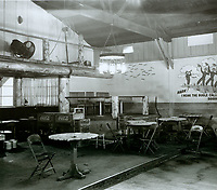 1943 Looking at the SE corner (special guest area) of the Hollywood Canteen