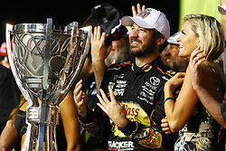 November 19, 2017 - Homestead, Florida, United States of America - November 19, 2017 - Homestead, Florida, USA: Martin Truex Jr (78) and his crew celebrate winning the Championship after winning the Ford EcoBoost 400 at Homestead-Miami Speedway in Homestead, Florida. (Credit Image: © Chris Owens Asp Inc/ASP via ZUMA Wire)