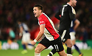 Dusan Tadic of Southampton appeals for a penalty .Premier league match, Southampton v West Bromwich Albion at the St. Mary's Stadium in Southampton, Hampshire, on Saturday 21st  October 2017.<br /> pic by Bradley Collyer, Andrew Orchard sports photography.