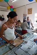 Black Pearl Farm, Tiputa, Rangiroa, Tuamotu Islands, French Polynesia, (Editorial use only)<br />