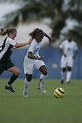 2006 FAU Women's Soccer vs Stetson, September 10, 2006.