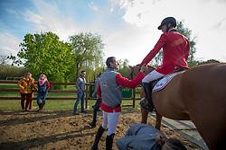 Bruynseels Niels, (BEL), Pommeau Du Heup<br /> Furusiyya FEI Nations Cup of Belgium<br /> Longines Spring Classic of Flanders - Lummen 2015<br /> © Hippo Foto - Dirk Caremans<br /> 01/05/15