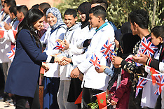 Harry and Meghan in Morocco - 24 Feb 2019