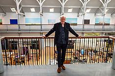 Artist Jock McFadyen at 70, Edinburgh, 11 June 2021